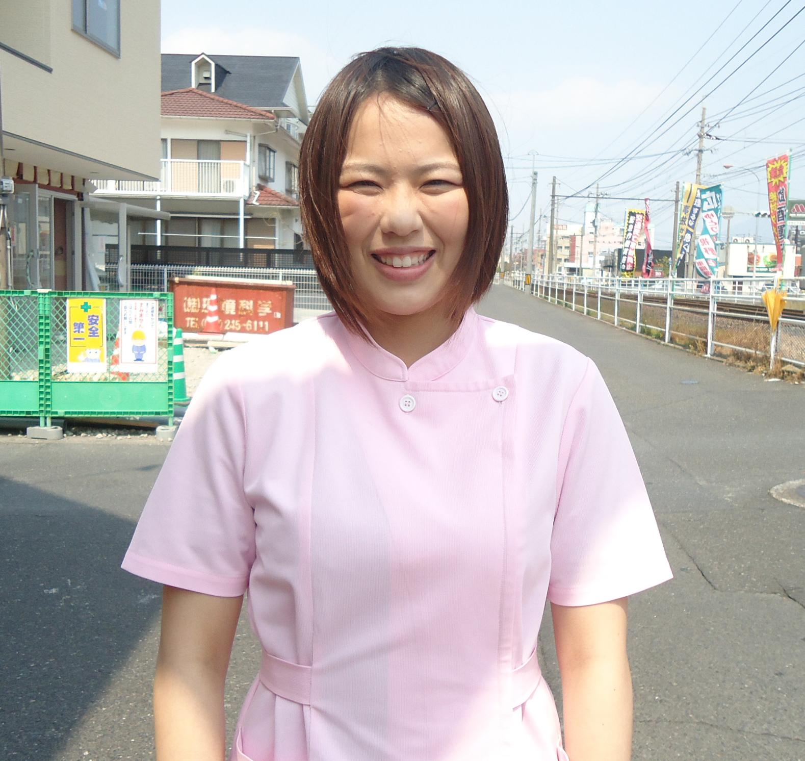 加藤淳鍼灸院スタッフ:鮫島 佑梨子